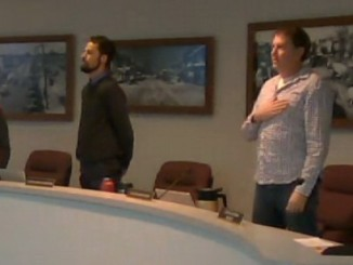 Sandpoint's Activist mayor shelby rognstad no salute to flag