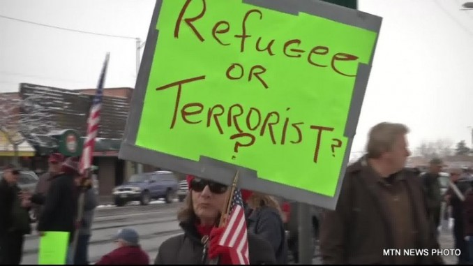 anti refugee