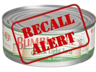 Bumble bee tuna recall