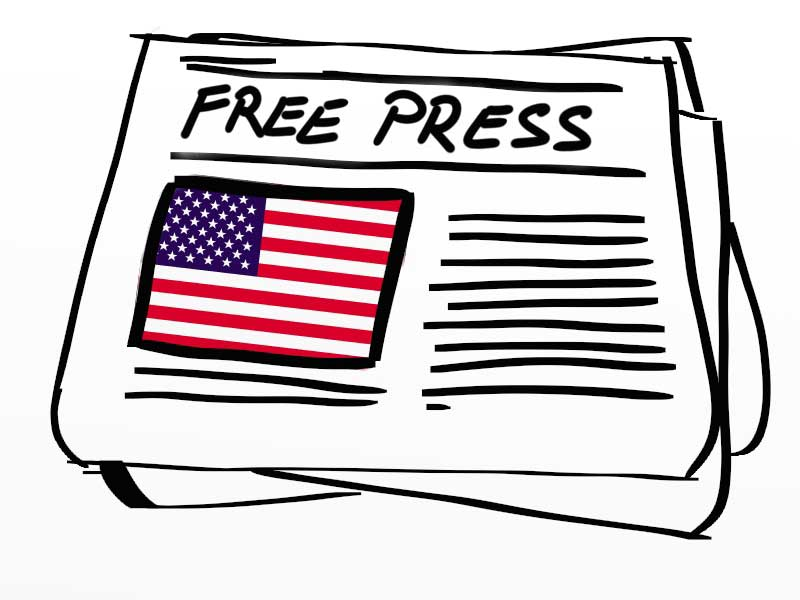 the freedom of press in the united states and the uncontrollable media