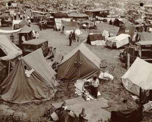 Bonus Army camp. July, 1932. Photo by Theodor Horydczak, Library of Congress.