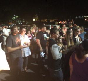 Candlelight Vigil for Maliki, Photo courtesy Natalia Hewitt, Facebook