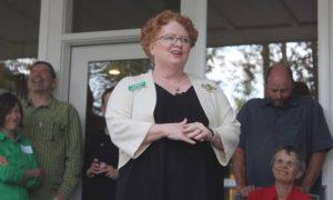 anti-gun, pro abortion Democrat Kate McAlister, running in District 1 North Idaho