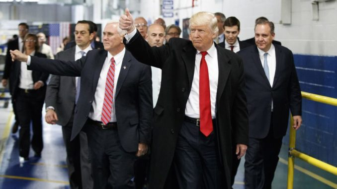 Mike Pence: Trump transition finishing on time, under budget