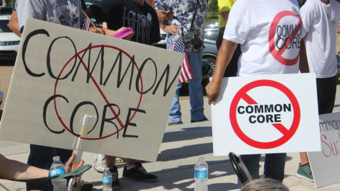 Rally to End Common Core on the steps of the Idaho Capitol