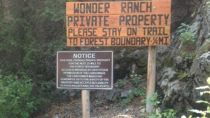 USFS Claims ADVERSE POSSESSION Against Land owner