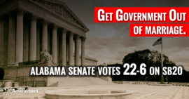 Alabama Senate Passes Bill to Eliminate Marriage Licenses, Nullify Federal Control in Practice