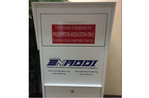 Boundary County Drug Drop Box