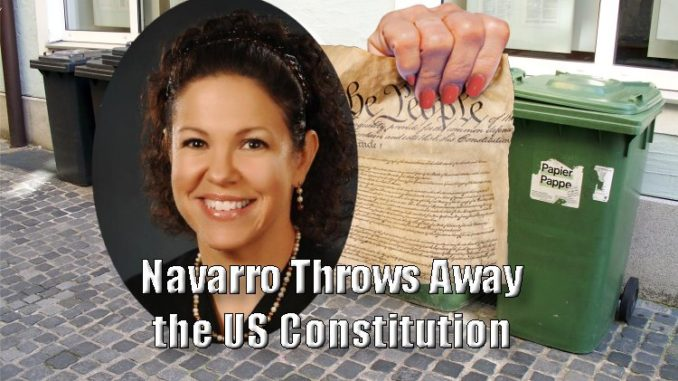 Navarro: Jury Cannot Use Constitution