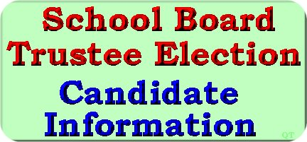 Bonner County School Board Trustee Candidates