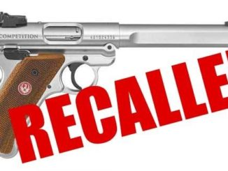 Ruger Mark IV Pistols RECALLED