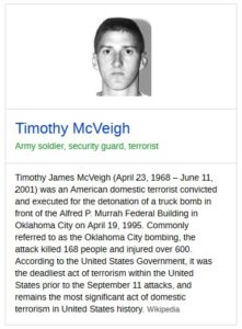 Prosecution Links Bunkerville Defendants to Timothy McVeigh