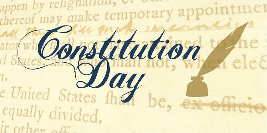 Constitution Day September 17th Redoubt News
