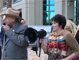 Cliven Bundy at the Clark County Sheriff's Office
