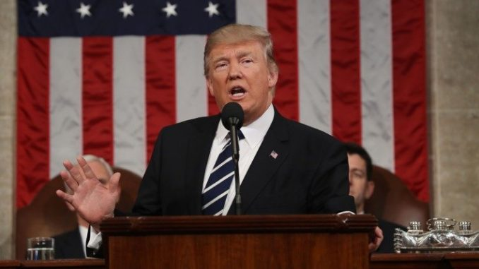 President Trump State Of The Union 2018