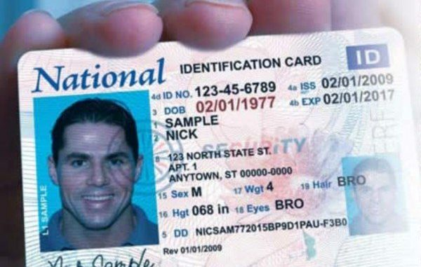 National Id Card Tucked In Immigration Bill