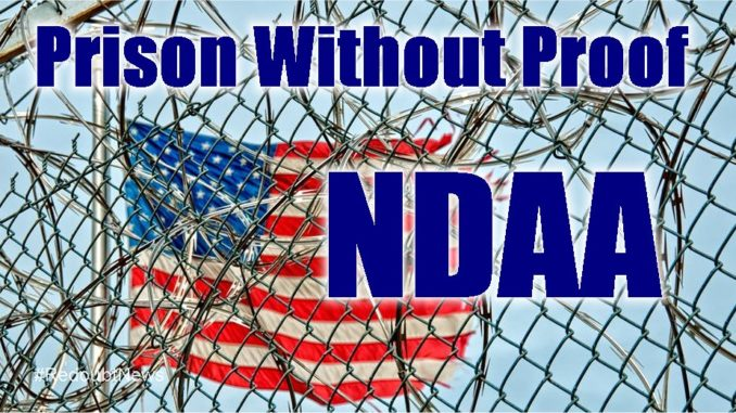 NDAA Indefinite Detention Power