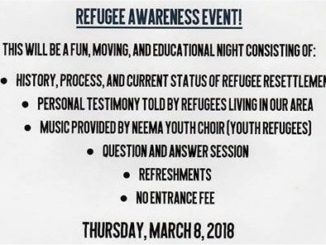 Refugee Propaganda Event with Video