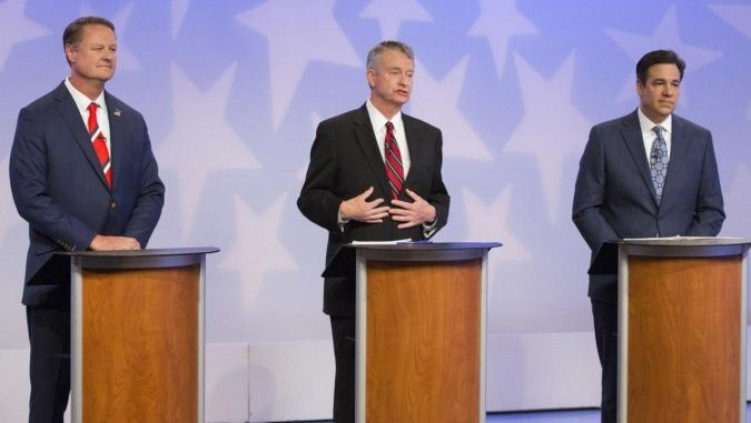Little Floats Tax Increase In Gubernatorial Debate
