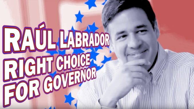 Raul Labrador For Governor