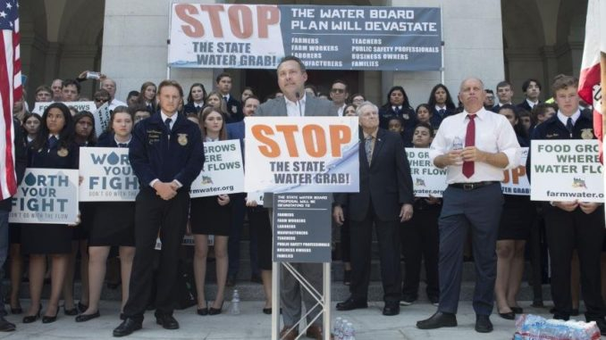 "California Water Wars: ""Stop the Water Grab"""