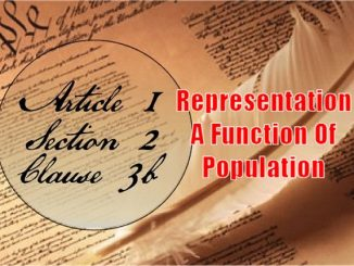Founders / Framers Minute: Article I, Section 2, Clause 3b
