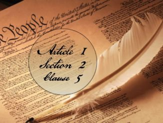 Article 1, Section 2, Clause 5
