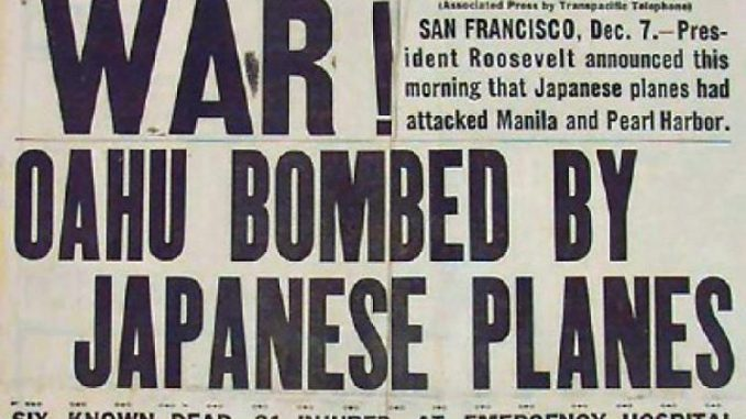 The Day That Lives in Infamy - Pearl Harbor Bombed