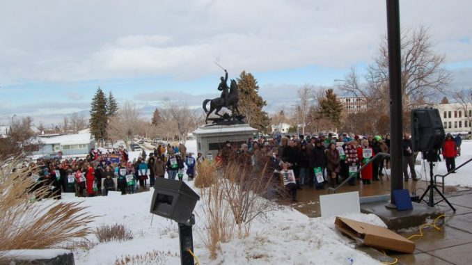 Montana Pro Life Rally Draws Crowd