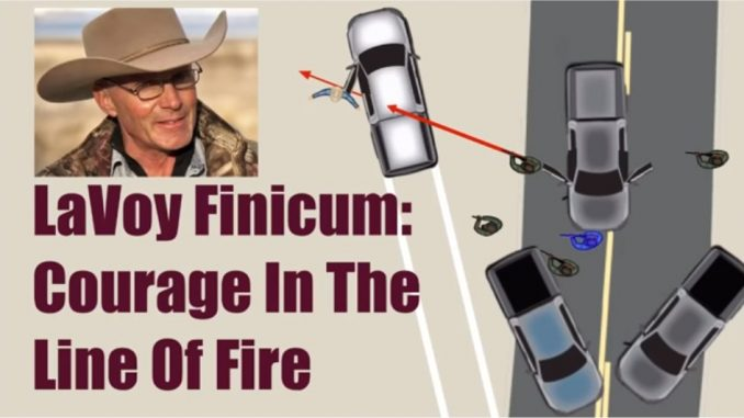 Courage In The Line of Fire