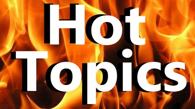 Hot Topics: School Bonds, E-Cigarettes & Internet Taxes