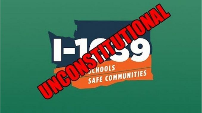 Don Brockett: State Leaders Wrong on I-1639