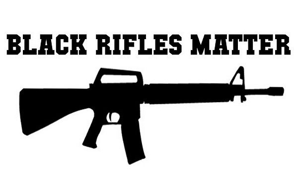 """Black Rifles Matter"" Sticker Triggers Human Rights Director"