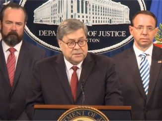 READ: AG William Barr Remarks On Mueller Report