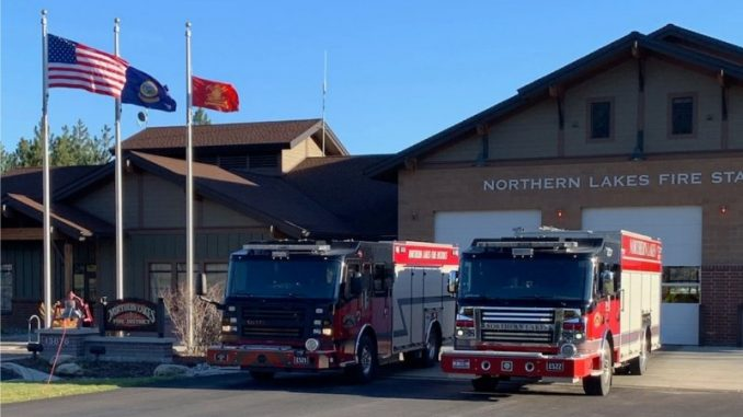 Northern Lakes Fire District Levy Vote May 21st