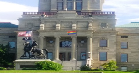 Gov. Bullock Replaces Montana State Flag With Rainbow Flag
