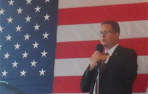 Rep. Matt Shea Holds Largest Fundraiser To Date