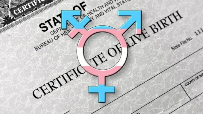 Only 5 Hearings for Birth Certificate Rule on Gender