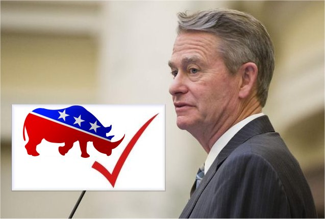 letter RINO Governor Opposes Conservative Constituents