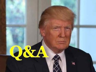 Q&A Debate About President Trump