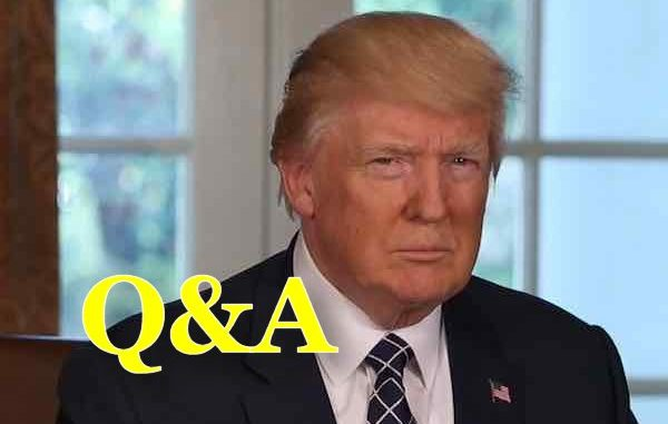 Q&A Debate About President Trump