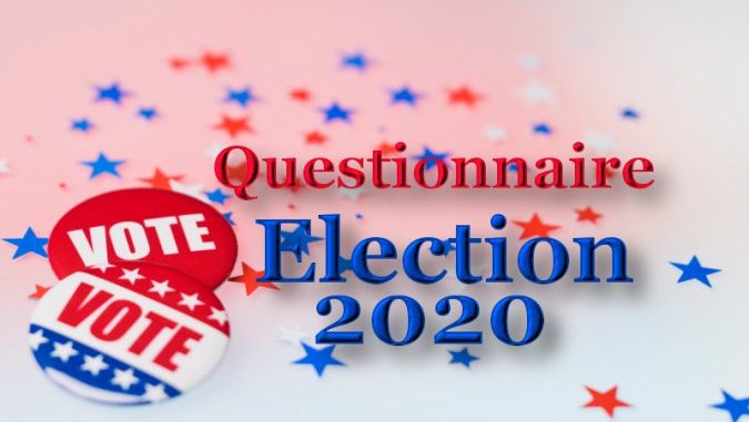 Election 2020: Candidate Questionnaire