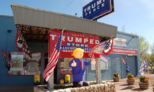 """The Trumped Store"" Boasts Freedom And Liberty"