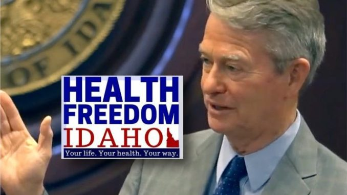 Health Freedom Idaho Demands Governor Rescind Lockdown Orders