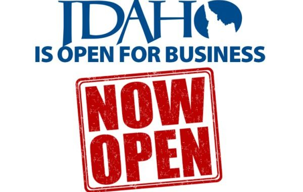 The Idaho Open For Business Rally