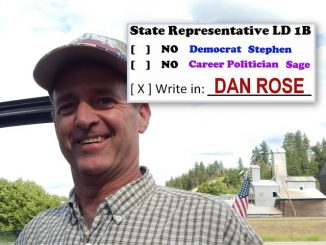 Write-in Candidate Challenges Career Politician