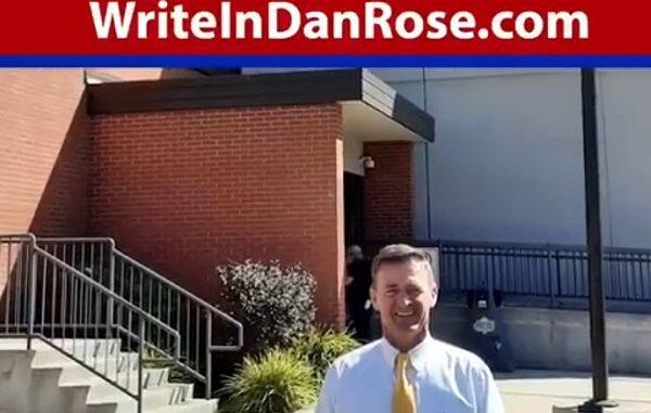 Write-In Candidate Dan Rose