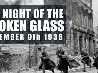 Kristallnacht Has Come To America