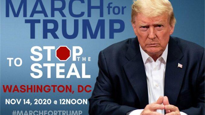 Eventbrite Deletes 'March For Trump' Rally