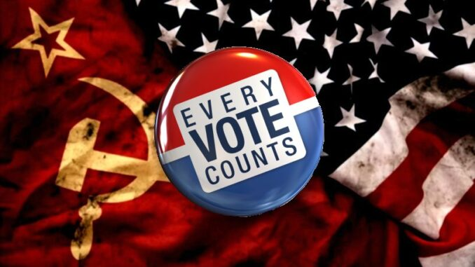 Socialism vs the American Dream – Every Vote Counts